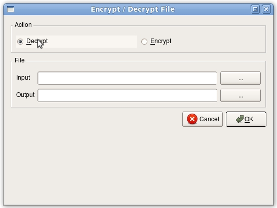 gpg4usb - project : howto decrypt a file